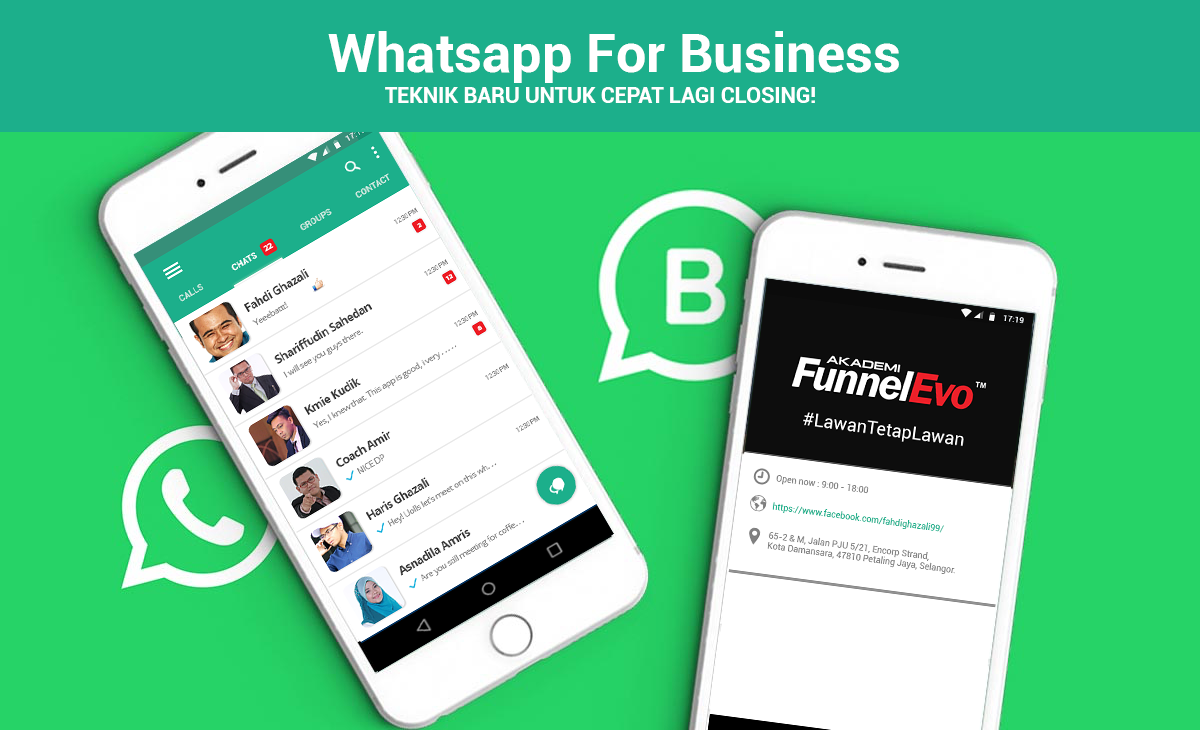 Tutorial Step by Step Whatsapp Business